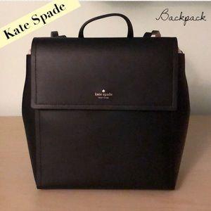 NWT Kate Spade Somerville Road Megyn Backpack Blk